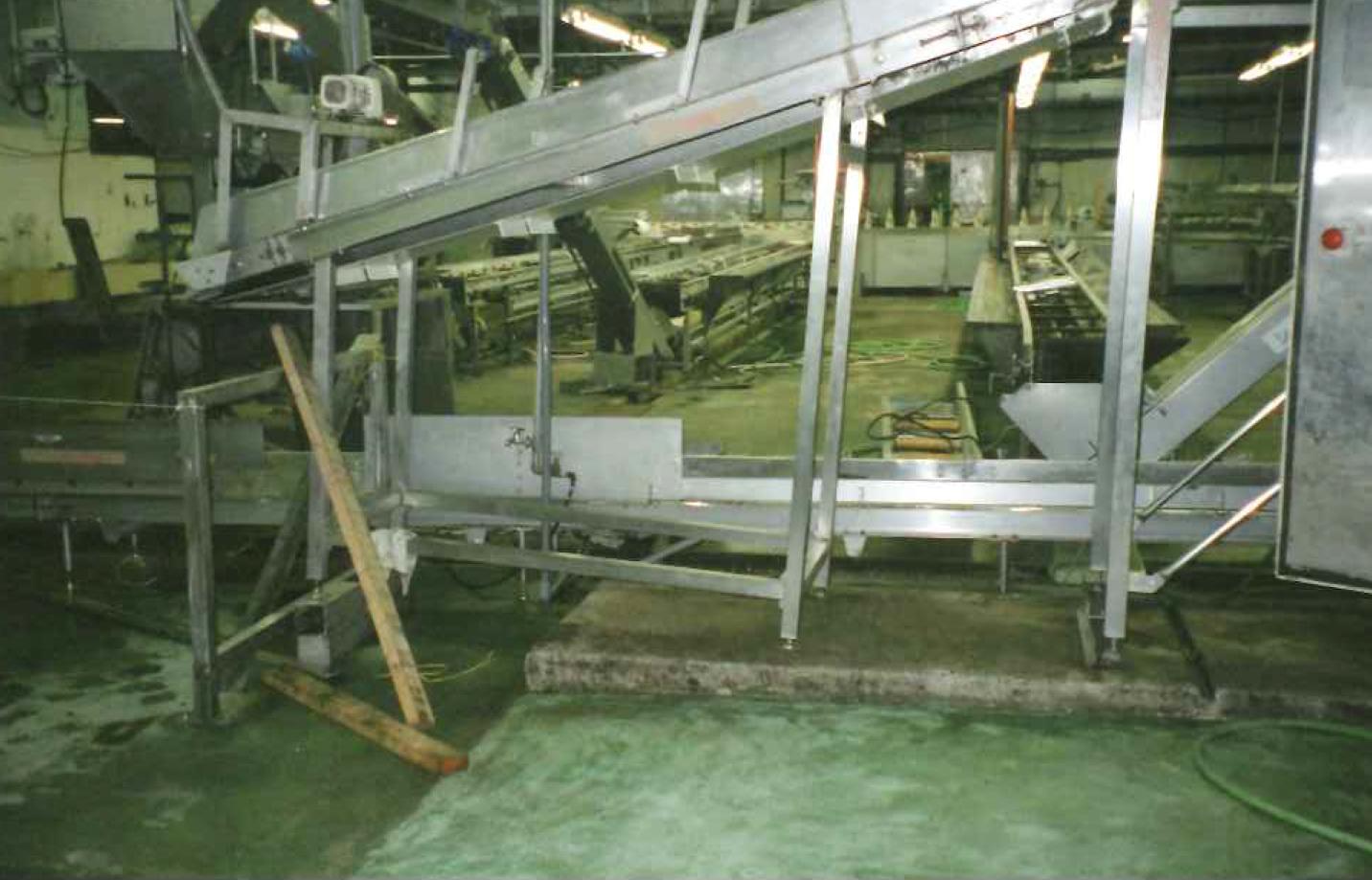 養鶏流通センター 解体室 加工室  水硬性ウレタン塗り床工事_07